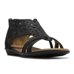 Rockport Cobb Hill Jordan Laser Cut Sandal 8.5